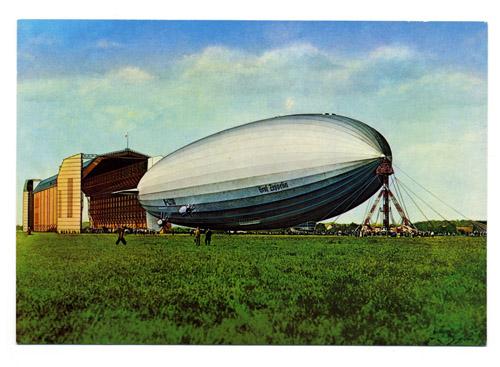 旧)紺碧の海:夢の飛行船「LZ-129/130」